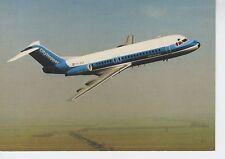 Postcard 1408 - Aircraft/Aviation Fokker F-28 Fellowship NLM Cityhopper