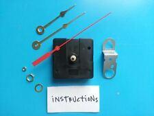SHORT Shaft Clock Kit! Battery Quartz Movement -w/Hands! Free Shipping! (982C-B)