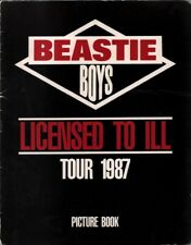 Beastie Boys 1987 Licensed To Ill Tour Concert Program Book Booklet / Vg 2 Ex