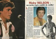 Coupure de presse Clipping 1985 Ricky Nelson   (2 pages)