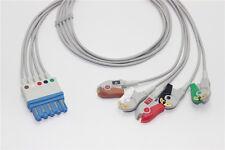Philips Hp M1968a Compatible 5 Lead Ecg Leadwire Pinch Aha G511ph