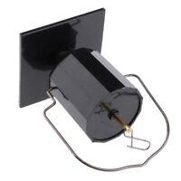 Solar Powered Hanging Display Wind Spinner Motor Garden Decor Accessoies