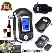 Advanced Police Digital Breath Alcohol Tester Breathalyzer Analyzer Detector New