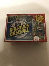 2017 TOPPS ARCHIVES BASEBALL BLASTER BOX - New & Sealed - Ships Fast