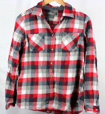 7bf62d7f3d2 Natural Reflections Womens Plaid Button Down Long Sleeve Casual Shirt Size  Med