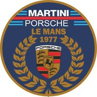 MotorSport Car Vinyl Decals Martini Style Racing Roundel Le Mans 1977 Rally F1 2
