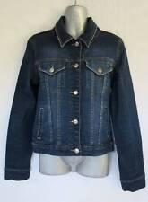 Lisa Ho 98% Cotton 2% Lycra Ladies Womens Denim Jacket Size 8