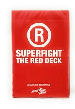 Superfight: The Red Deck Expansion Set Card Game Skybound Games Darin Ross New