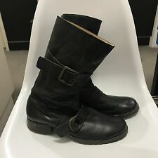 MENS CTC Rider Boots EU41Black Made in Japan