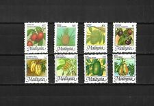 Malaysia 1986 Definitive (fruits) 8 v. Sc#329-36  MNH