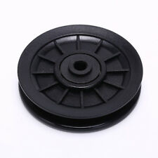 1pc 105mm Black Bearing Pulley Wheel Cable Gym Equipment Part Wearproof WU