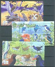 More details for solomon 2004 world bird festival 3 sheets of 6 mnh