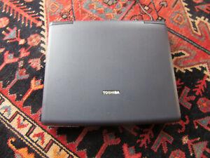 Vintage Retro Toshiba Satellite SP2100 Windows XP Laptop