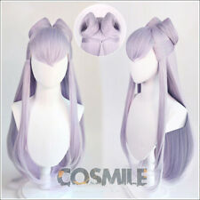 Styled KDA Evelynn Cosplay Hair Wig Silver Purple Girl Group Sa