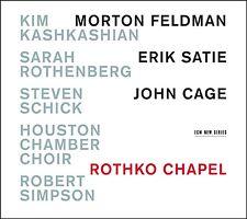 Kashkashian/Rothenberg/+ - Rothko definiva Chapel CD NUOVO Feldman/questa/Cage