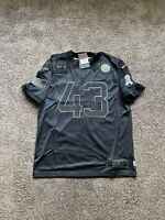 Troy Polamalu Pittsburgh Steelers Salute To Service Jersey Size Large