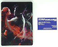 Steelbook (Caja Metálica) Tekken tag tournament 2, Xbox 360, no lleva el juego.