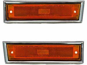 For 1981-1986 Chevrolet C10 Side Marker Light Set Front 18743VQ 1985 1982 1983
