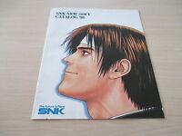 >> SNK NEO GEO SOFT CATALOG 1998 ORIGINAL RARE JAPAN HANDBILL FLYER CHIRASHI! <<
