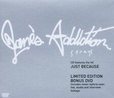 Jane 's Addiction strays (2003, CD/DVD) [CD DOPPIO]