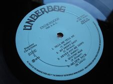 (((((BLUE RHYTHM COMBO BRC UNDERDOGS LP 1975 BARBADOS VG+ VINYL RARE FUNK)))))