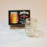 NIB Vintage 200th Anniversary Jim Beam Barrel Shot Glass One Glass per Box