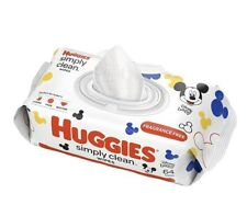 Huggies Simply Clean, Baby Wipes (64 Count)