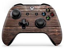 Xbox One Controller Aufkleber Skin Klebe Schutzfolie Sticker Skins Brown Wood