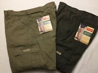 NWT MEN'S Wrangler Cargo Relaxed Fit Rip-Stop 70L3WOD 70L3WML 1 TECH Pocket Pant