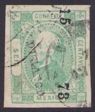 dg19 Mexico #93 6ctv DGO 15-73 Sz 238 / S J de GUADALUPE Sz 264 Est $20-40 VF-XF