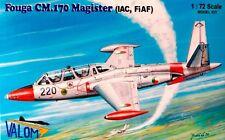 FOUGA CM 170 MAGISTER (IRISH & ILMAVOIMAT/FINNISH AF MKGSS) 1/72 VALOM
