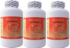 3   Alaska Deep Sea Fish Oil, Omega 3  300 x3=900caps, EPA DHA