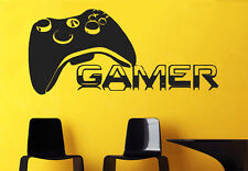 Wall Decal Vinyl Sticker Gamer Players Gaming Time xbox 360 ps3 Game r568