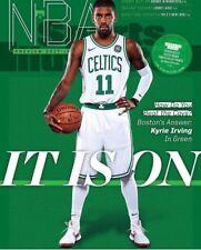 October 16 -23, 2017 Kyrie Irving Celtics REGIONAL Sports Illustrated NO LABEL