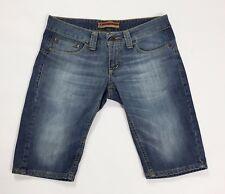 Oy jay jeans shorts w30 tg 44 vita bassa bermuda corti sexy denim blu pant T2723