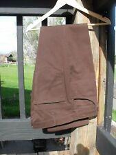 Vintage Levi's Sta-prest Brown Corduroy Dress Slack Pants 35 x 30