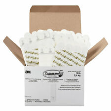 Command™ Picture Hanging Strips  Removable  Holds Up to 12 lb  3/4 x 2 3/4