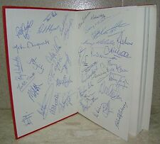 "Rotherham United / 40 SIGNATURES in ""Millmoor Personalities 1946/86"" D Watson"