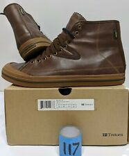 Tretorn Skymra GTX Waterproof Brown Leather Ankle Boots - Men's Size 13