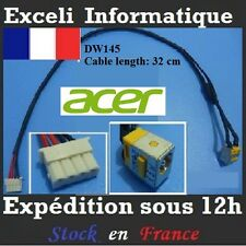 Acer Aspire 5920 5920G 6530 6530G 6930 6930G 6930ZG dc power jack cc câble