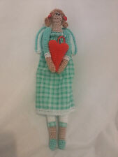 Tilda Angel Handmade Crocheted Doll, Amigurumi,