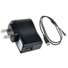 USB AC/DC Power Adapter Camera Battery Charger + PC Cord for Nikon Coolpix S6000