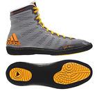Adidas Jake Varner Wrestling Shoes - Grey/Black/Solar Gold
