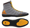Adidas Jake Varner Wrestling Shoes - Grey/Black/Solar Gold