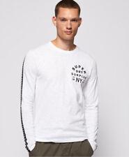 Superdry Herren Surplus Goods Langarm-T-Shirt Mit Grafik