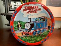 """Vintage 1994 Thomas The Tank Engine & Friends 7.5"""" Collectible Cookie Tin RARE"""