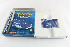 Nintendo Gameboy Advance Pokemon Sapphire Sealed Instructions Pal UK Great Cond