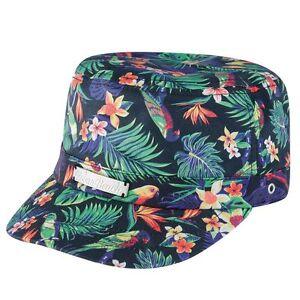 UBBAW37-05BK Urban Beach Ladies Black Little Havana Castro Hat OSFA MRP £9.99