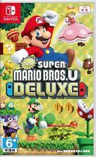 New Super Mario Bros. U Deluxe Chinese/English/Japanese Nintendo Switch NEW