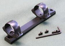 Remington 700, rifle scope mounts,Short Action 1 inch rings, 1 piece base, STEEL